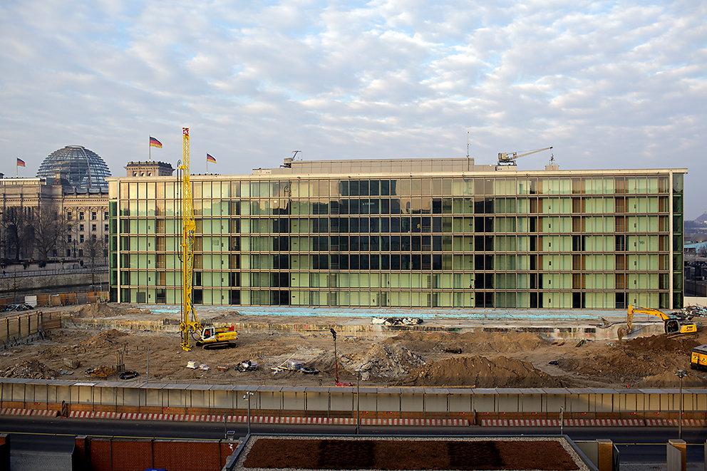 Fotodokumentation Erweiterungsbau des Marie-Elisabeth-Lüders-Hauses