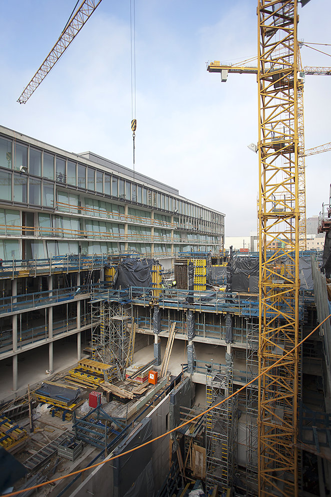 Fotodokumentation Erweiterungsbau des Maria-Elisabeth-Lüders-Hauses